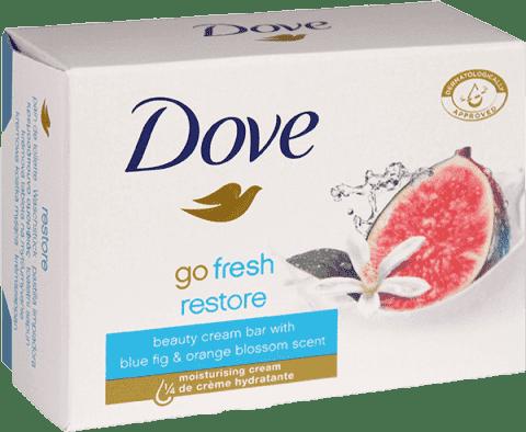 DOVE tableta krémová s vôňou modrého fíku a pomarančového kvetu 100g
