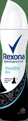 REXONA deo spray Invisible Aqua 150ml (antiperspirant)