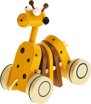 BINO Żyrafa na sznurku