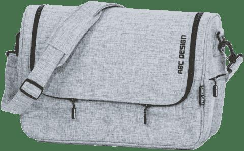 ABC DESIGN Taška na pleny Classic – graphite grey
