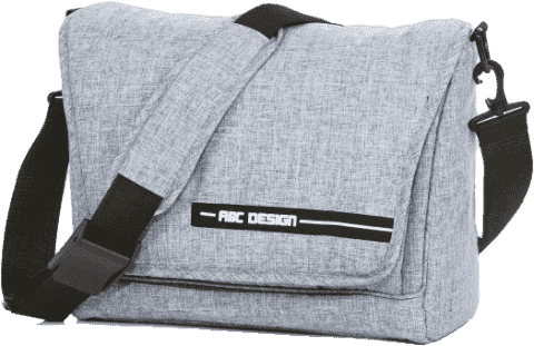 ABC DESIGN Taška na plienky Fashion - graphite grey