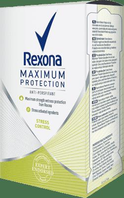 REXONA stick MaxPro Stress Control 45ml (antiperspirant)