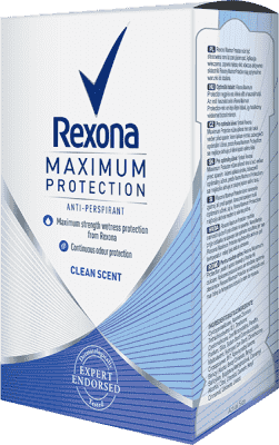 REXONA Deo stick MaxPro Clean Scent 45ml (antiperspirant)