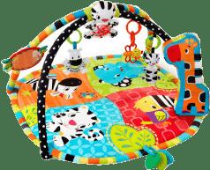 BRIGHT STARTS Deka na hranie Spots & Stripes Safari ™ 0 m +