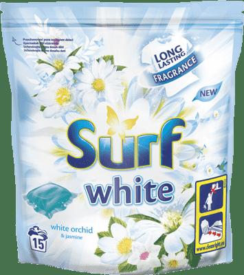 SURF White Orchid 394 g (15 prań) – kapsułki do prania