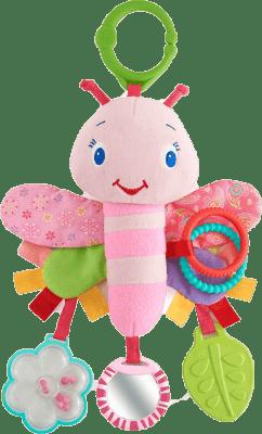 BRIGHT STARTS Zabawka motyl Pretty in Pink™, 0m+