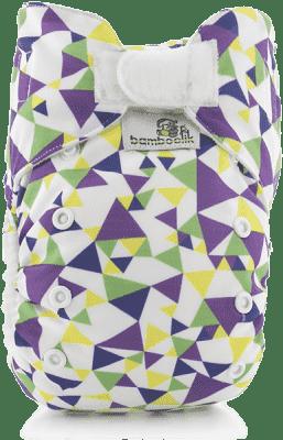 BAMBOOLIK Látková plienka AIO Stay Dry, trojuholníky
