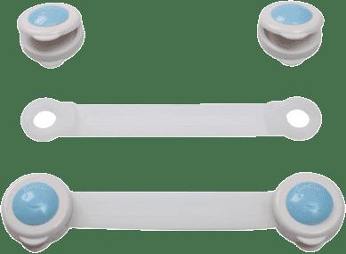BABY ONO Zámek univerzální pro zásuvky a chladničky – bílá