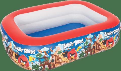 BESTWAY Nafukovací bazén obdélníkový Angry Birds - 201 x 150 x 50 cm