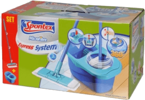 SPONTEX Express system mop