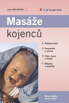 KNIHA Masáže kojenců (CZ)