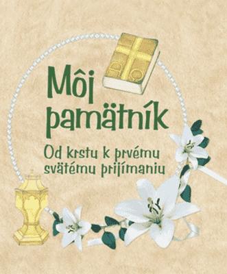 KNIHA Môj pamätník (SK)