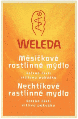 WELEDA Body Care mydło nagietek soap 100 g