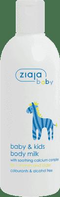 ZIAJA Baby tělové mléko pro děti 300ml