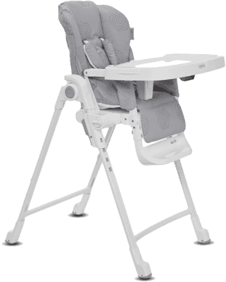 INGLESINA Polohovací židlička Gusto stříbrná