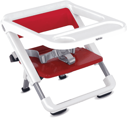 INGLESINA Brunch skládací stolička červená