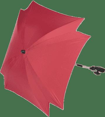 ZOPA Parasol przeciwsłoneczny kwadratowy + UV, jasnoczerwony
