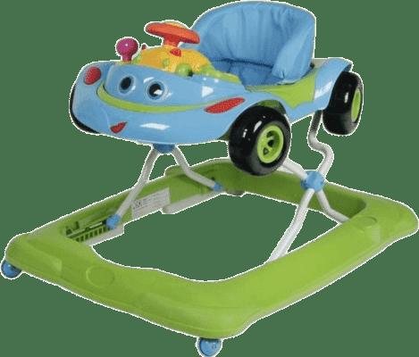 ZOPA Dětské chodítko Cars, zelené