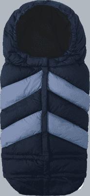 7 A.M. ENFANT Śpiworek do wózka 3w1 Blanket 212 Chevron, Metallic Blue