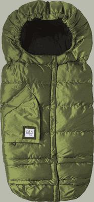 7 A.M. ENFANT Fusak do kočárku 3v1 Blanket 212 Evolution, Metallic Leaf