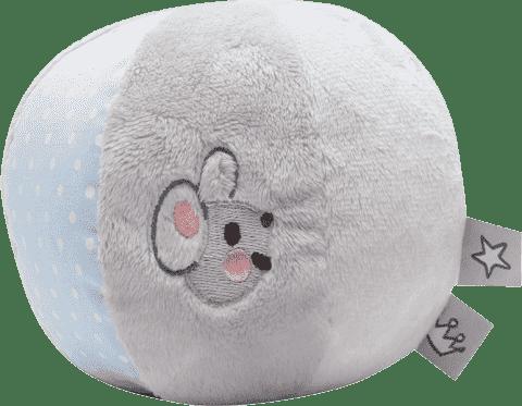 BEBE-JOU Little Mice, šustící plyšový balón - myška