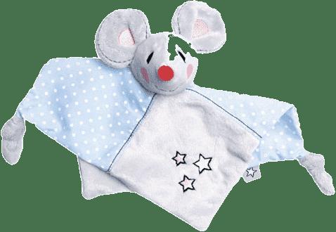 BEBE-JOU Plyšová mazliaca dečka Myška Little Mice