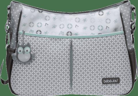 BEBE-JOU Luxusní přebalovací taška Sovičky
