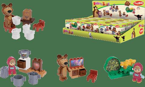 BIG Bloxx Masza i Niedźwiedź – Zestaw startowy