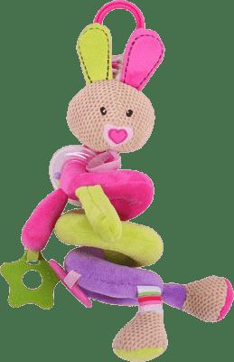 BIGJIGS Textilné postavička - Špirála králiček Bella
