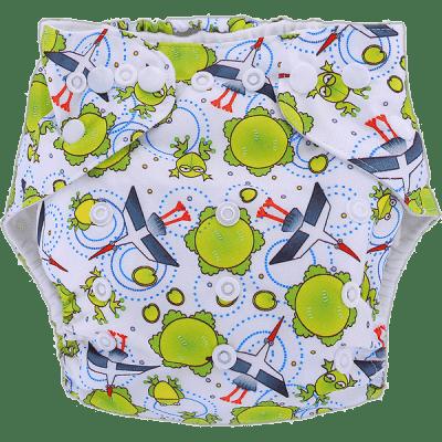 BOBOLIDER Plenkové kalhotky ECO Polandia B51 – vložka z mikrovlákna