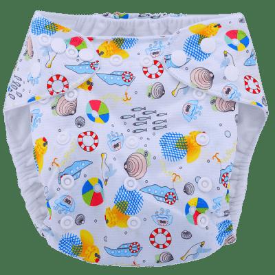 BOBOLIDER Plienkové nohavičky ECO polandia B57 - vložka z mikrovlákna