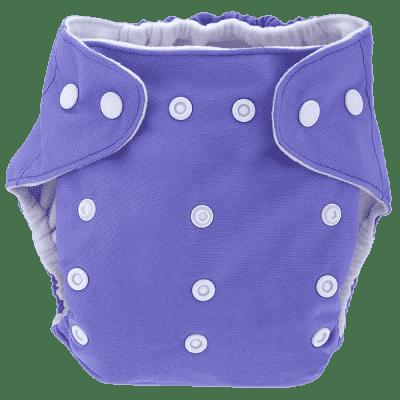 BOBOLIDER Plienkové nohavičky ECO Bobolider B8 - fialovej, bambusová vložka