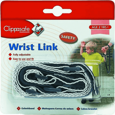CLIPPASAFE vodítko na ruku pre dieťa- modrá