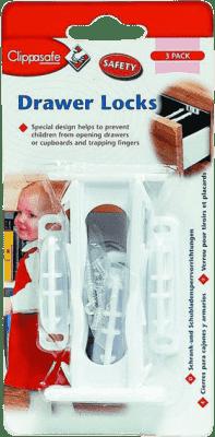 CLIPPASAFE poistka skriniek / zásuviek 3ks