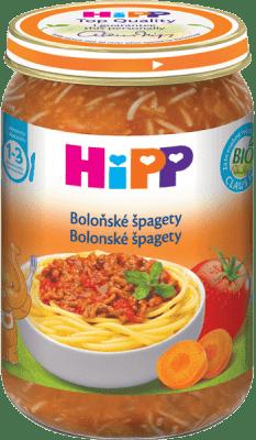 HIPP BIO Bolonské špagety (250g) - mäsovo-zeleninový príkrm