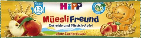HIPP BIO müsli broskyňovo - jablčná tyčinka 20g
