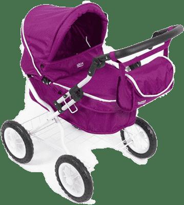 RÖMER Kočík na bábiky Pram 2016 - Cool berry