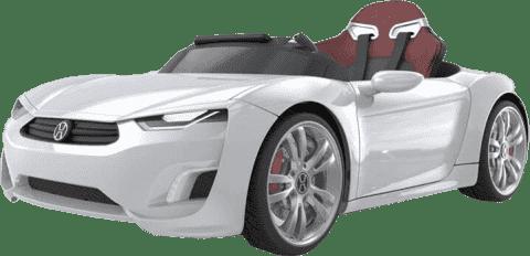 EPLINE Elektrické Auto Henes Broon F830, bílé