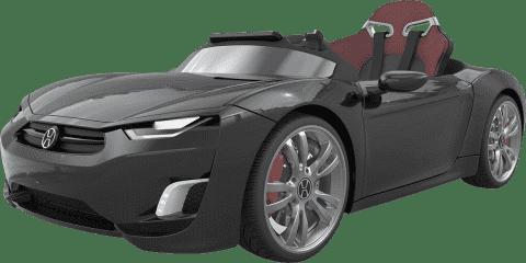 EPLINE Elektrické Auto Henesy Broon F830, čierne