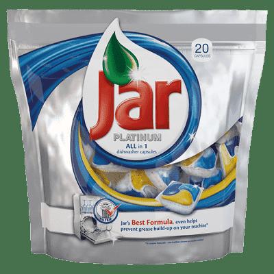 JAR Platinum 20ks - tablety do umývačky