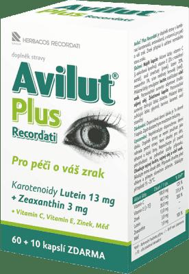 HBF Avilut Plus Recordati – tablet 60+10 ZDARMA