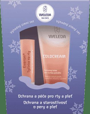 WELEDA Zestaw zimowy (ochrona ust + krem ochronny)
