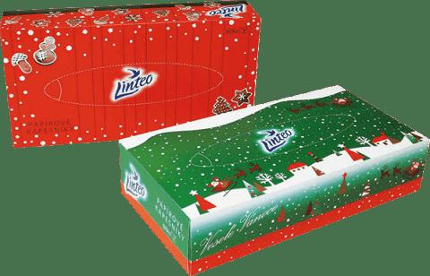 LINTEO Papírové kapesníky 80 ks parfémované pomeranč-skořice LIMITOVANÁ EDICE