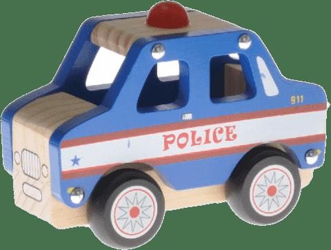 2-PLAY Auto drewniane – radiowóz policyjny
