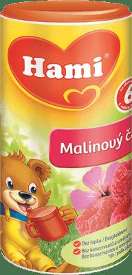 Expirace 18.8.2016: HAMI čaj instantní malinový 200g