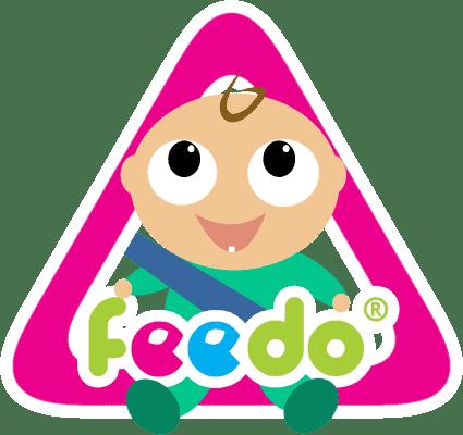 FEEDO Ostrzegawcza naklejka na auto – chłopiec (Feedo Klub)