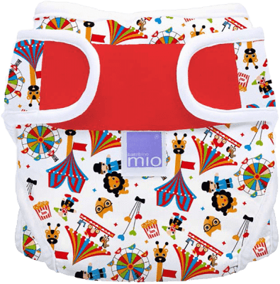 BAMBINO MIO Plenkové kalhotky Circus Time vel. I. (do 9kg)