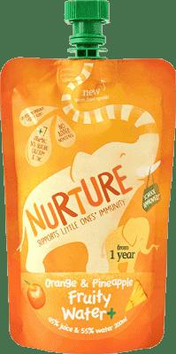 NURTURE Ovocná šťava pomaranč / ananás 200ml