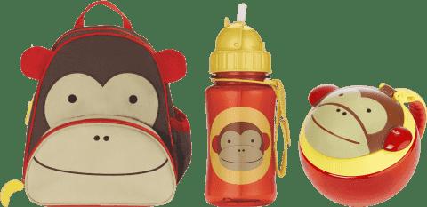 SKIP HOP Plecak, Bidon, Kubek – Małpa