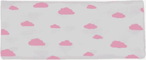 GLOOP Mušelínová plena 100x100 Pink Clouds
